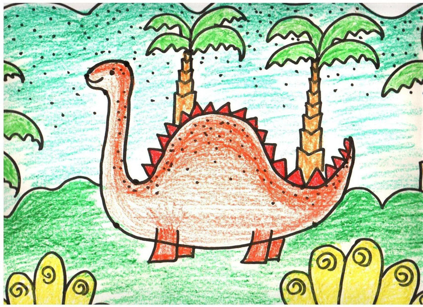 幼儿美术创意思维绘画课程 教案 范画 CD音乐