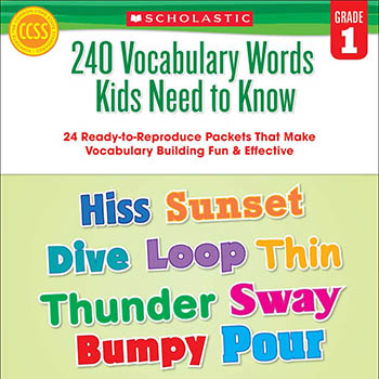 240 Vocabulary Words Kids Need to Kn