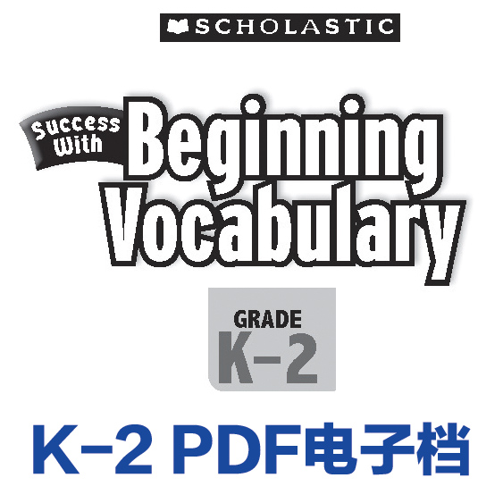 Scholastic Success with Beginning Vo
