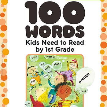 Scholastic 100 words kids need to re
