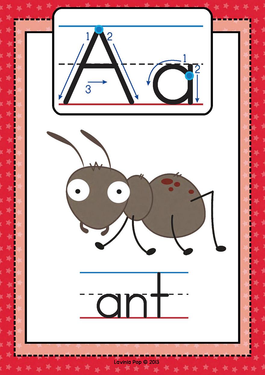 o字母开头的单词_phonics自然拼读法Letter of the Week A-Z英语26个字母大小写全26册PDF-兜 ...