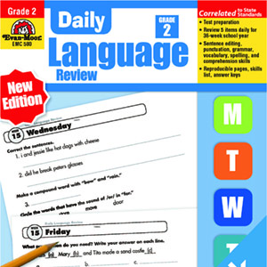 Daily Language Review Grade 1-8 英文